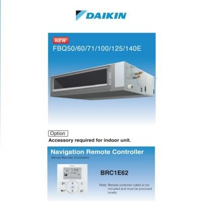 DAIKIN 大金 FBQ140EVE 6匹 變頻淨冷(中靜壓)風管式冷氣機 (轉線控減$780)