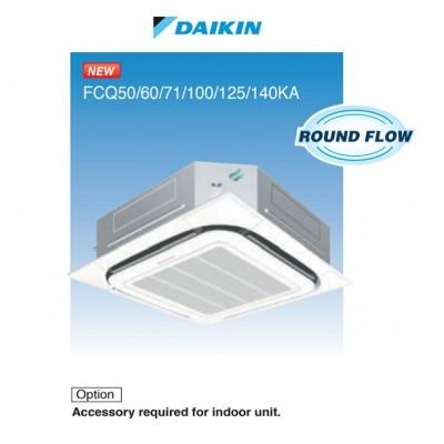 Daikin 大金FCQ60KAVEA 2.5匹變頻淨冷卡式(四面出風)藏天花式冷氣機 (360° 環繞氣流) 系列 (轉線控減$780)