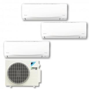DAIKIN 大金 MKC50RVMN  R32 變頻淨冷一拖三分體冷氣機 1匹+1匹+1.5匹 (包標準安裝)