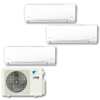 DAIKIN 大金 MKC70SVMN R32 變頻淨冷一拖三分體冷氣機 1匹+1匹+2匹 (包標準安裝)