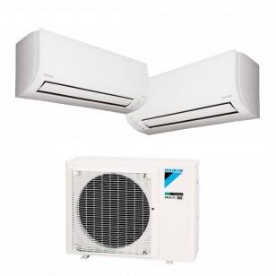 DAIKIN 大金 3MXM52R R32 變頻冷暖一拖二分體冷氣機 1匹+1匹 (包標準安裝)