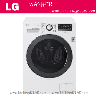 LG WF-ST1408ZW 8公斤1400轉 前置式洗衣機 Front Loaded Washer