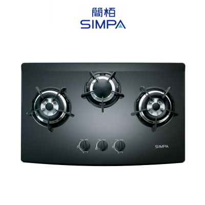 SIMPA 簡栢 SRJB73S 嵌入式三頭平面爐