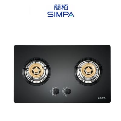 SIMPA 簡栢 SUZB62G 嵌入式雙頭平面爐