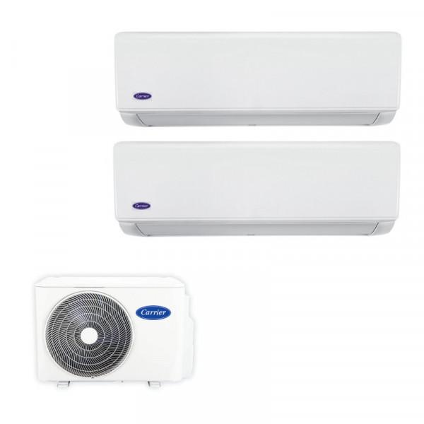 Carrier 開利 38QUS018DS2 變頻冷暖 一拖二分體式冷氣機 2匹拖1匹+1匹  (包標準安裝)
