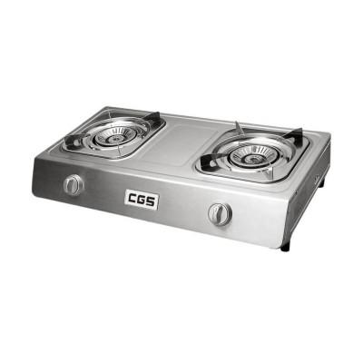 CGS 皇冠牌 CK8268 座枱式 雙頭煤氣煮食爐