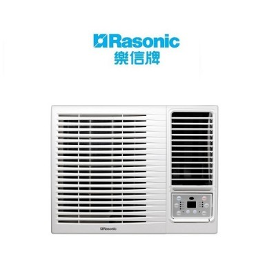 Rasonic 樂信 RCX9 1匹 窗口式冷氣機,無線遙控型(包標準安裝)