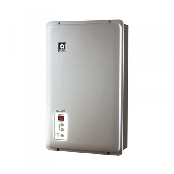 Sakura 櫻花 H100RF-S 10公升 背出排氣 石油氣體熱水爐 銀色